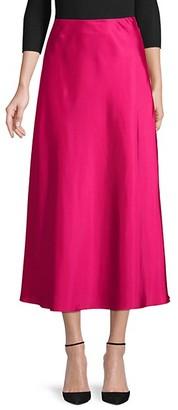 Rebecca Minkoff Side-Zip Midi Skirt