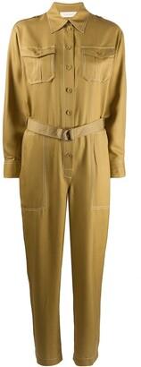 Zimmermann Silk Belted Jumpsuit