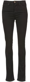 Acquaverde TWIGGY women's Skinny Jeans in Black