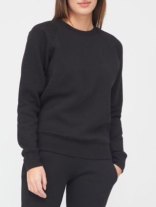 Very Petite Sweat Top - Black