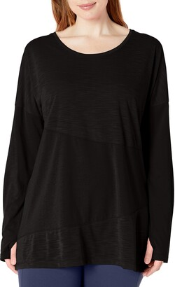 Fit for Me by Fruit of the Loom Women's Plus Size Active Piece Tunic Tee