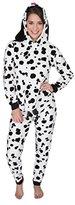 Sleep & Co Women's Plush Pajama Set with Dog Face Hood