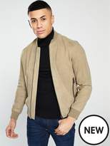 Selected Homme Selected Homme Suede Bomber Jacket