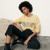 SandroSandro Wool and cashmere sweater with message