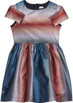 No Added Sugar Glitter stripe dress 4-12 years