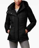 Rampage Hooded Quilted Puffer Coat, Only at Macy's