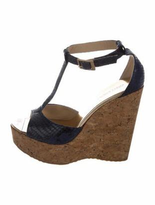 Jimmy Choo T-Strap Sandals