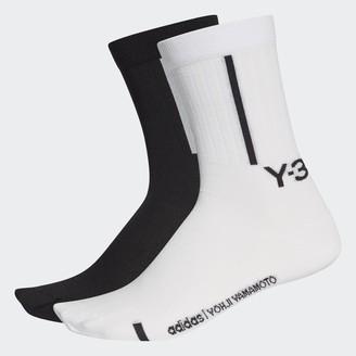 adidas Y-3 Crew Socks (2 Pairs)