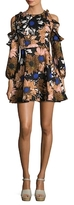 Lucca Couture Shayne Floral Print Dress