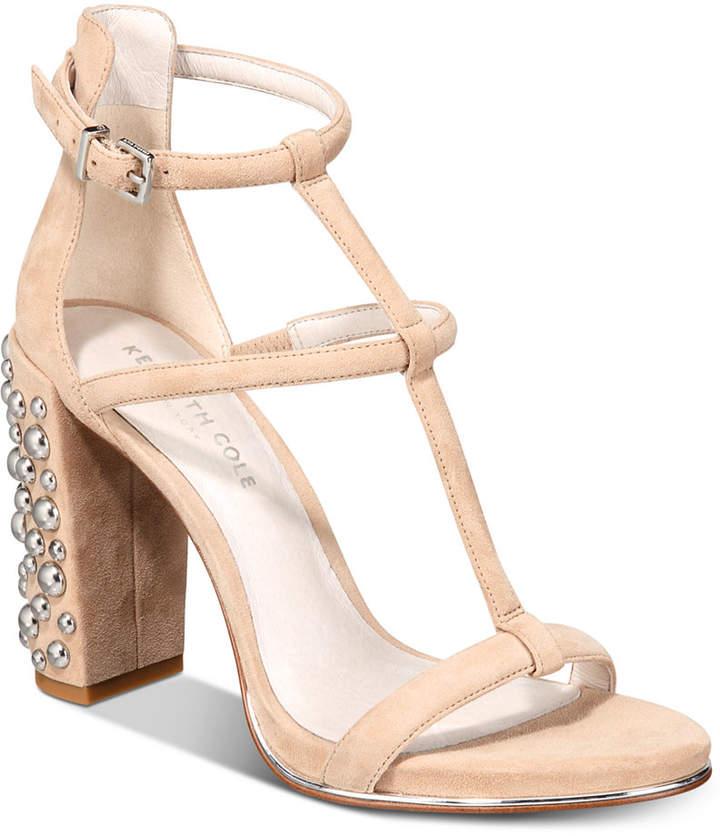 Kenneth Cole New York Women Deandra Studded Dress Sandals Women Shoes