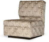 Badgley Mischka Home Mulholland Slipper Chair
