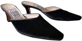Emma Hope \N Black Velvet Sandals
