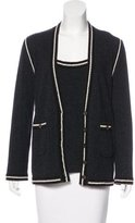 Carolina Herrera Cashmere Cardigan Set