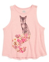 O'Neill Toddler Girl's Fox Tail Graphic Tank
