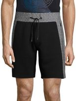Madison Supply Ribbed Mixed Media Shorts