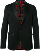 Etro classic blazer - men - Silk/Cotton/Nylon/Cupro - 46
