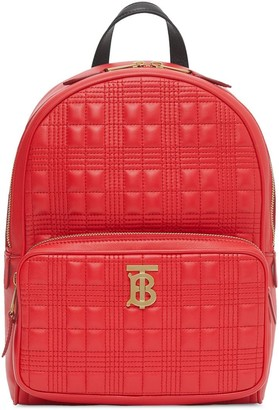 Burberry quilted monogram backpack
