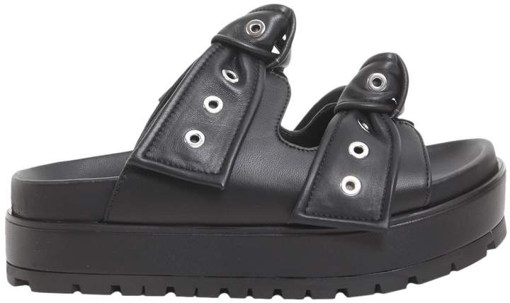 Alexander McQueen Platform Slide Sandals