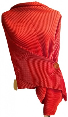 Cartier Red Polyester Scarves
