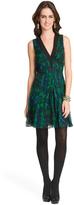 Proenza Schouler Kaleidoscope Floral Dress