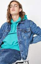 Levi's Acid Wash Denim Trucker Jacket