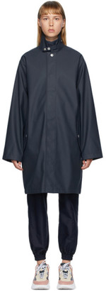Won Hundred Black Boston Logo Coat