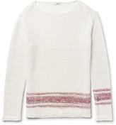 Valentino Linen And Silk-blend Sweater
