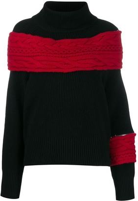 Sacai Chunky Knit Jumper