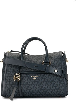 MICHAEL Michael Kors Carine logo medium satchel bag