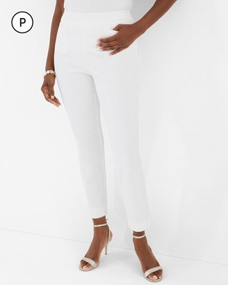 So Slimming Petite Brigitte Slim Ankle Pants