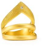 Freida Rothman Stone Arrow Ring