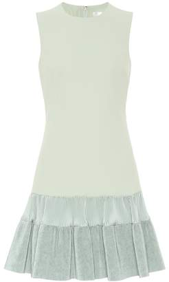 Victoria Victoria Beckham Ruffled jersey minidress