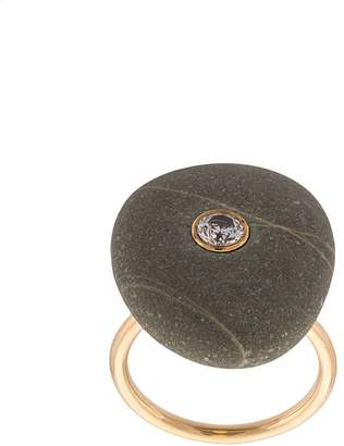 Cvc Stones crystal embellished ring