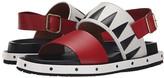 Marni Geometric Calf Leather Sandal