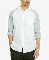 Kenneth Cole Reaction Men's Pocket Raglan Cotton Shirt