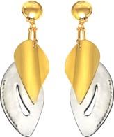 Marni Leaf Brass Earrings