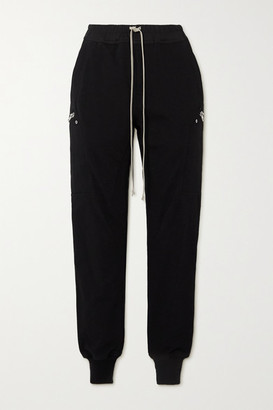 Rick Owens Cotton-jersey Track Pants