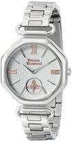 Vivienne Westwood Women's VV101SL Westbury Bracelet Analog Display Swiss Quartz Silver Watch
