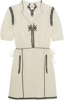Etoile Isabel Marant Rebel embroidered cotton mini dress