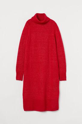 H&M Knit Turtleneck Dress