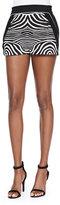 Ohne Titel Zebra-Print/Solid Resort Shorts