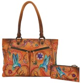 Anuschka Hand-Painted Leather Large Shopper