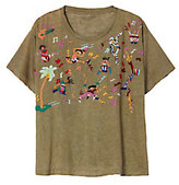 Bannerday Fiesta Embroidery Tee