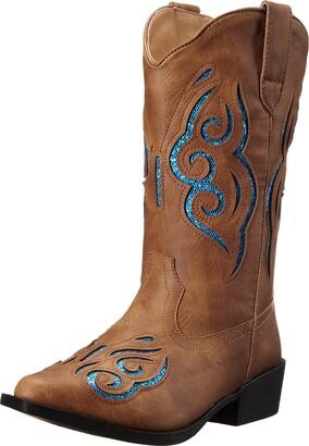 Roper Girls' Glitter Gracie Western Boot