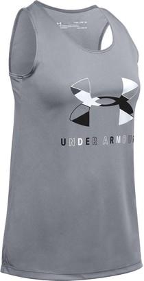 Under Armour Girls 7-16 Tech Tank Top