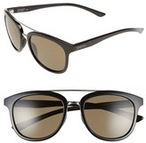 Smith Optics Women's 'Clayton' 54Mm Polarized Aviator Sunglasses - Black/ Polarized Grey Green