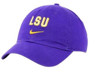 Nike Lsu Tigers H86 Wordmark Swoosh Cap