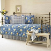 Laura Ashley Emilie 5 Piece Daybed Set - Blue (Daybed)