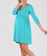 Green Maternity Nightgown
