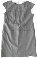 Escada Grey Cotton Dress for Women